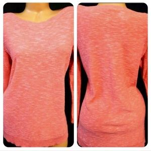 Eileen Fisher Coral Sweater 1X